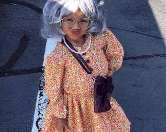 Old Lady dress for costume (Madea)