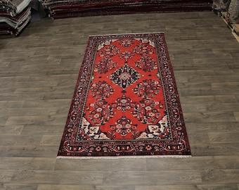 Stunning Rare Size Tribal Lilian Hamedan Persian Rug Oriental Area Carpet 5X10