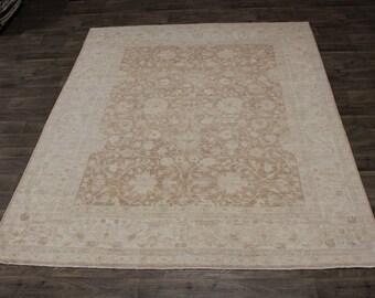 Excellent Handmade Oushak Zeigler Pakistan Wool Rug Area Oriental Carpet 8X10