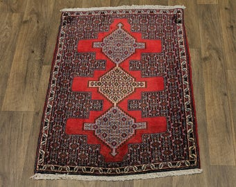 Awesome Unique Design Small Bidjar Persian Wool Rug Oriental Area Carpet 2'4X3'5