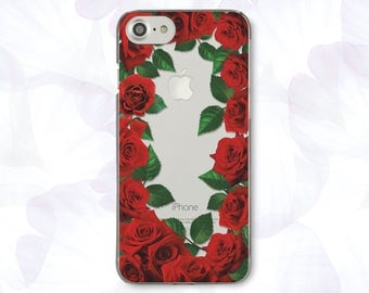 Floral iPhone 8 Case For iPhone 8 iPhone 8 Plus Case iPhone X Case iPhone 7 Plus  iPhone 6  iPhone 6S iPhone SE  Samsung S8 Cute CBB1527