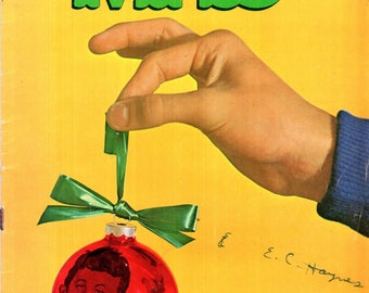 MAD Magazine #132 Season Greetings! Have A Ball! 1970