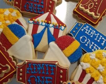 Circus Cookies & Circus tent cookies   Etsy