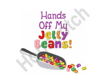 Jelly Beans - Machine Embroidery Design