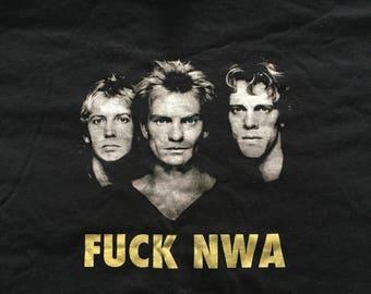 The Police F**k NWA shirt