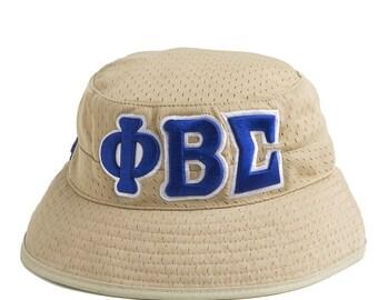 PHI BETA SIGMA Khaki Bucket Hat