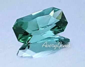 Tourmaline Neon 1.4 Ct Loose Gemstone Natural Ror Engagement Ring Tourmaline Necklace Precious Gemstone Precision Cut By AveryGems