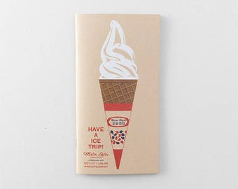 Mister Softee x Traveler's Factory collaboration notebook Refill Regular size 07100610 Limited Log-On Hong Kong TRAVELER'S COMPANY Rare