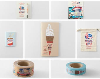 Mister Softee x Traveler's Factory collaboration Complete set  Limited Log-On Hong Kong TRAVELER'S COMPANY Rare