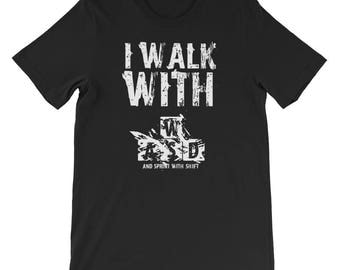 Gamer T-Shirt I Walk with WASD and Sprint with Shirt