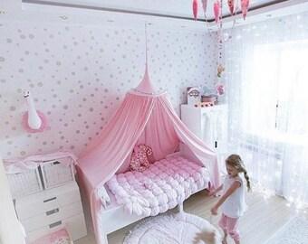 Baldachin Canopy Hanging Playhouse Boy Decor Tent Bed