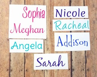 Vinyl Name Decal | Any Word Decal | Any Name Decal | Custom Vinyl Decal | Word Decal | Custom Vinyl Sticker | Personalized Decal