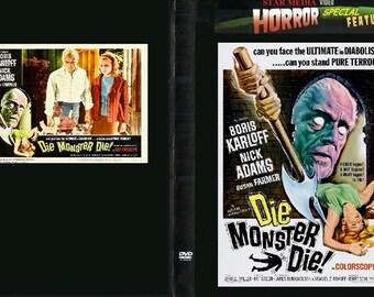 Die Monster Die DVD-Sci-Fi Horror-Boris Karloff