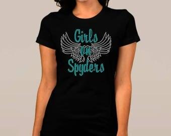 Can Am SPYDER Rhinestone Bling Shirt
