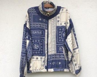 20% OFF Vintage Rare Le Coq Sportif Silk Baroque Jacket