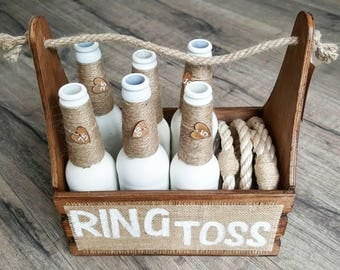 Ring Toss | Ring Toss Game | Wedding Game | Garden Game | Vintage Game | Lawn Game | Ring Toss Set