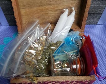 Beginner Altar kit// Travel Altar// witch altar// spell kit