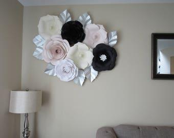 Large Paper Flowrers/Nursery Decor *****Color Customizable*****