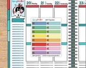 Etsy Sale Planner Stickers for Erin Condren Happy Planner Travelers Midori (dd277)