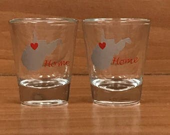 Home Shot Glass set