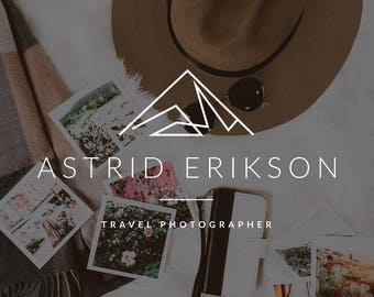 Custom Travel Blog Logo Design Header