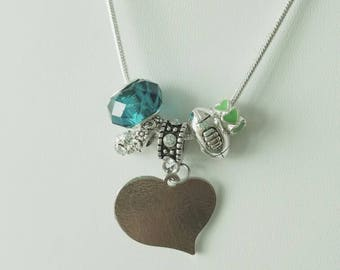 Your Team Pandora-style Necklace (msg seller for team choice and details)