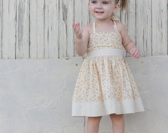 Floral Baby Toddler Twirl Dress