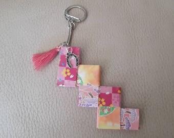 Keychain bag charm