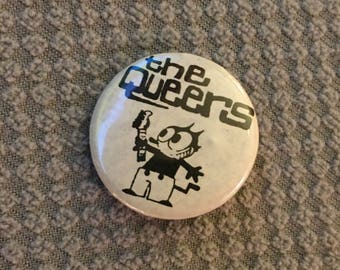 The Queers  Pin Badge punk skate punk