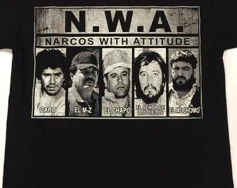 Narcos With Attitude NWA Shirt