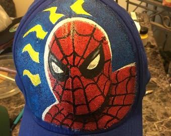 Baseball cap, snapback hat, custom headwear, dad hat, art, Spidey Senses