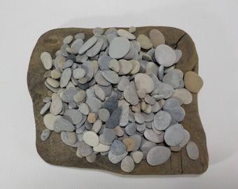 "250+ Selection Of Small/Tiny 0.3 - 1.1""/0.7-2.7 cm Beach Stones - Bulk Small Beach Pebbles - Small Sea Stones #221"