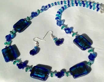Blue/Green Stunning Necklace