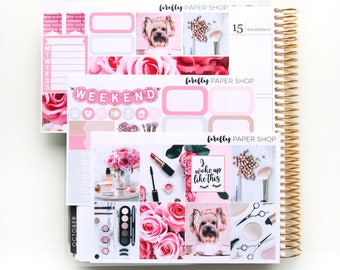 Flawless MINI Weekly Kit (stickers for Erin Condren Life Planner - Vertical)