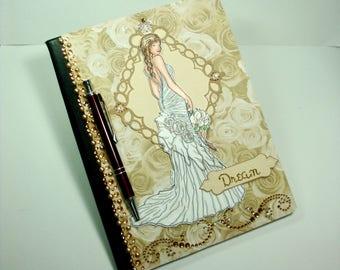Wedding Journal, Writing Journal, Unique Journal, Bridal Journal, Journal, Journal for Her, Diary, Unique Diary, Bridal Diary, Wedding Diary