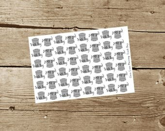 Trash Day Planner Stickers