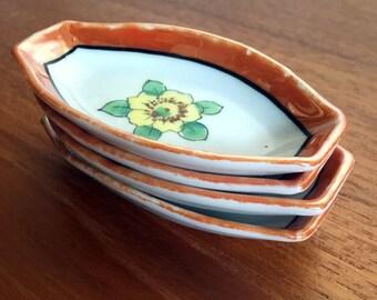 Lusterware // Chikaramachi // Soya Bowls //  Snack Set