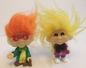 1993 Burger King Kids Club glo trolls
