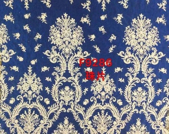Lace fabric,embroidered lace,guipure lace fabric,wedding dress lace fabric,white bridal lace fabric,evening dress lace fabric