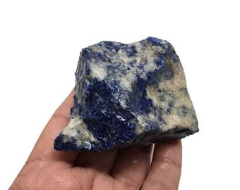 191 Grams Natural Rough LAPIS LAZULI Crystal Mineral Specimen Gemstones, RL149