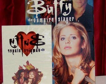 Buffy the Vampire Slayer VHS ( with tattooz )