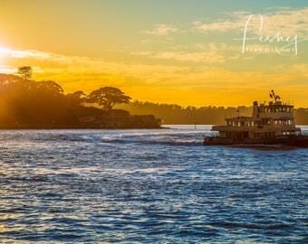 Sydney Harbour @ Dawn Digital Download, Professionally shot limited edition image. Sydney Harbour, Sydney Australia, Sydney Sunrise