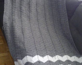 Handmade Crochet Throw Blanket