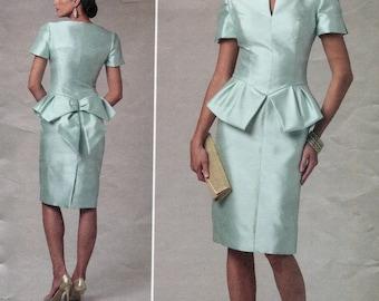 Vogue 1231, Bellville Sassoon Women's Dress Sewing Pattern, SIzes 16, 18, 20, 22, UNCUT, 2011