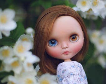 Weekend Sale % •Nia•Ooak custom Blythe doll original Takara Prima dolly Ashlette