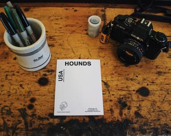"Hounds ""Create, Create, Create"" Notepad"