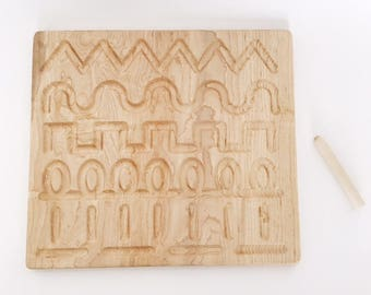 wooden form drawing tracing board, montessori, prewriting
