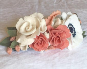 Custom toddler flower crown