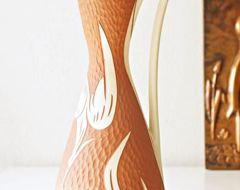 Fifties vase, Heron, made by Sawa, West Germany