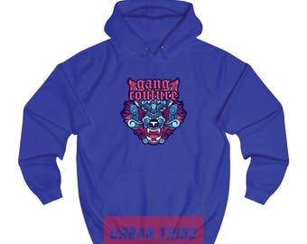 90S Hip Hop Gang Couture Hoodie 002, Gang Hoodie, 90s Couture, 90s Clothing, 90s Hoodie, Animal Clothing, Classic Hoodie, Streetwear